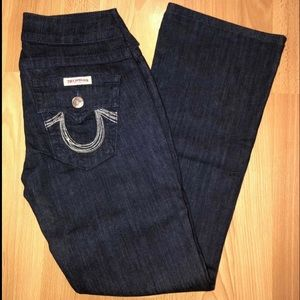 True Religion Flap Pocket Jeans Sz 26